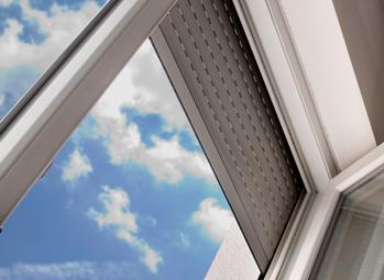 Fenster Dreher Rollläden spenden Schatten, wärme- sowie schallisolierend