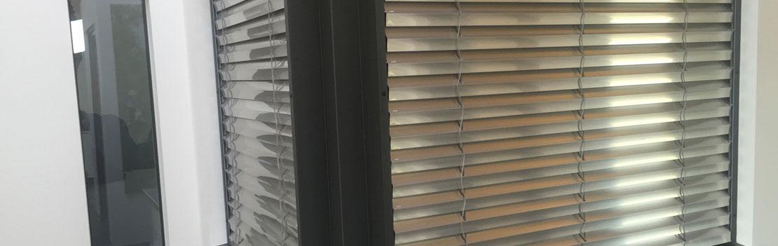 Jalousie Aluminium-Holzfenster Wendlingen Frank Dreher Banner