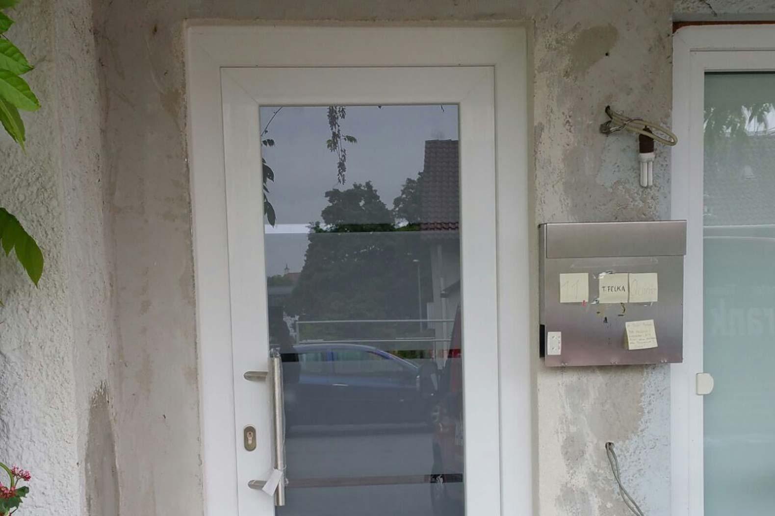 Kunststoffhaustür aus Wendlingen Refernz 1